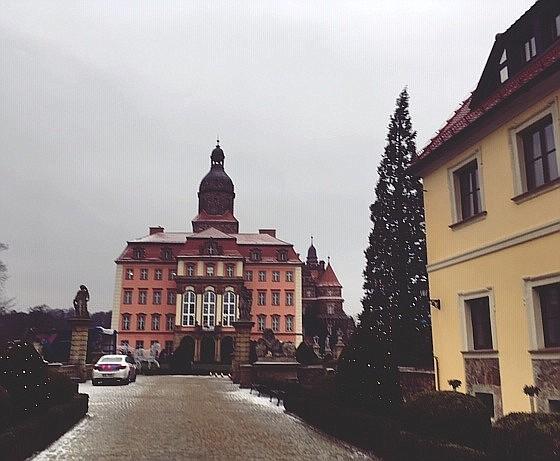 Zamek Książ dates to the 14th century.