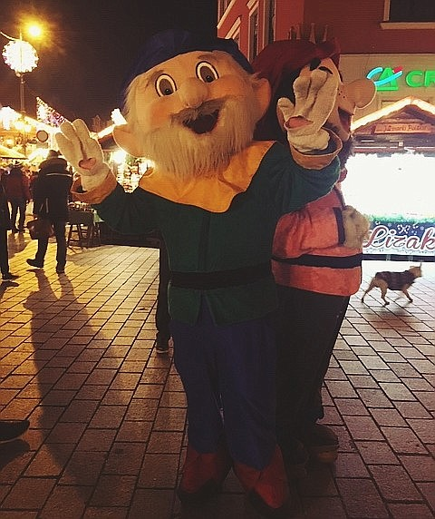 Wroclaw Christmas Fair dwarves.