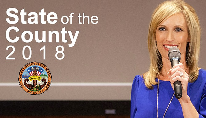 Supervisor Gaspar announced on May 3 her intention of running for a second term.