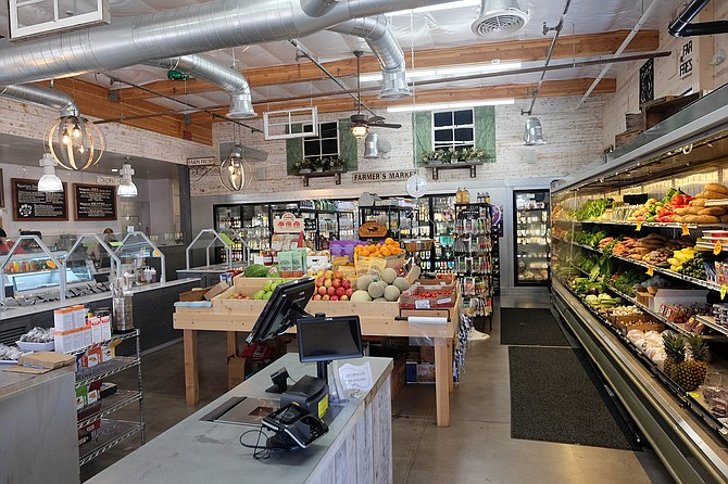 Local produce, North County beer and cider, and gourmet ingredients galore