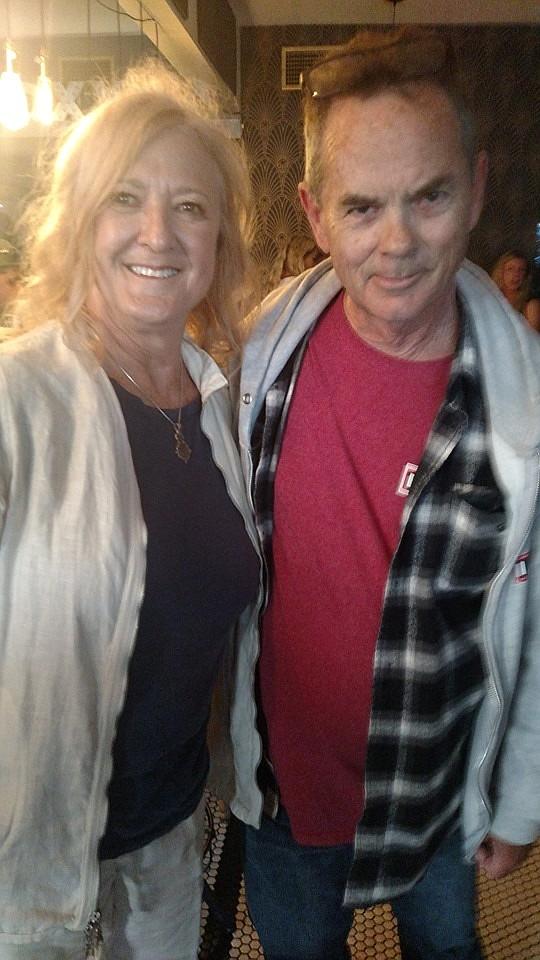 Ellen Berryman, Bruce Logan at May 1 book release