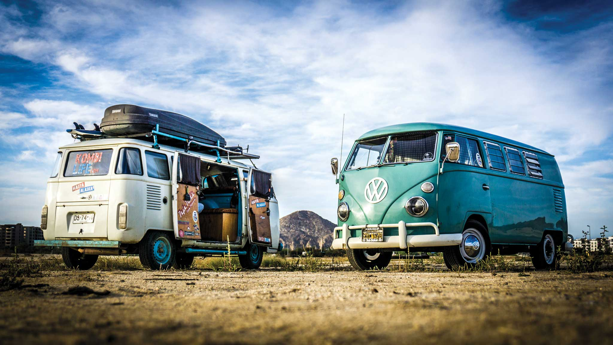 On a VW Bus south of the border | San Diego Reader