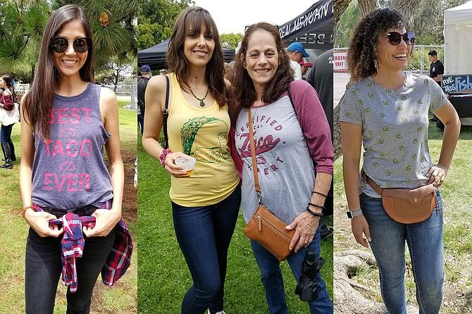 Megan's shirt says it all!; Matching mom & daughter taco shirts; Adorable avocado print t-shirt