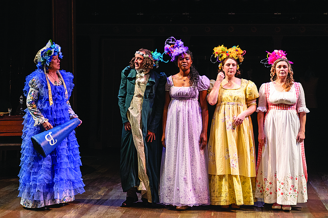 """Pride and Prejudice: """"The re-using of gags is this production's weakness."""""""