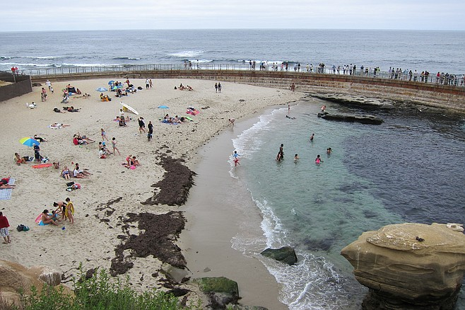 Children's Pool, 2012, before water was as dirty