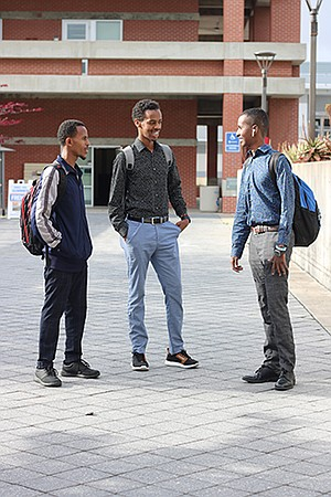 California college students, such as these at San Diego City College, have racked up $120 billion in student loan debt.