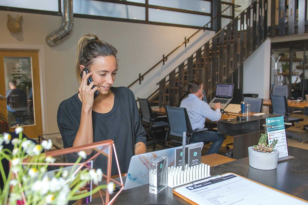 """""""On Monday mornings, everyone is pretty focused,"""" says Union Cowork community manager Allison Fortuna."""