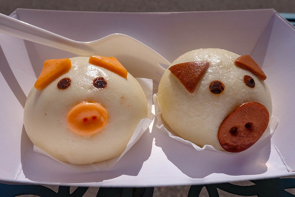 These cute steamed buns are too cartoonish to inspire guilt.