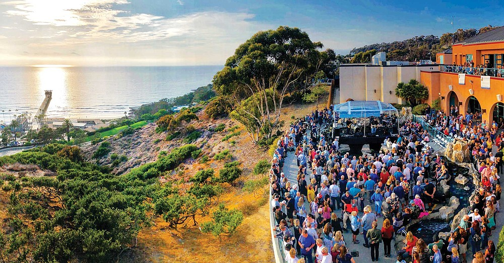 A monthly summer event in its 14th year, Green Flash Concert Series promises live music and panoramic ocean views at Birch Aquarium
