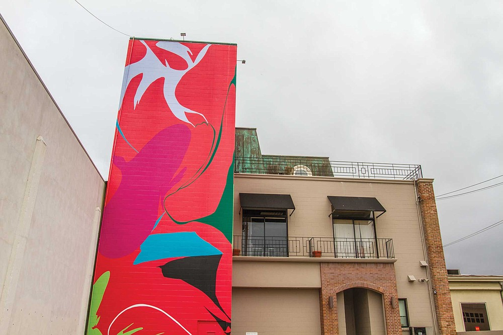 See Heather Gwen Martin's piece, Landing, in a guided tour of La Jolla's murals