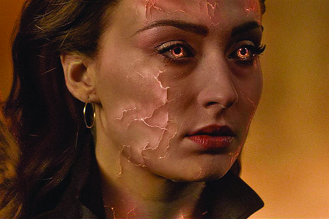 """Dark Phoenix: """"Do world-shattering cosmic powers leave your skin looking dry and fissured?"""""""