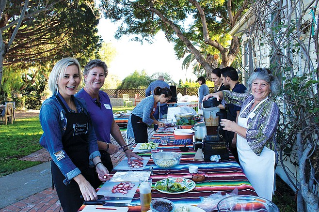 Olivewood Gardens and Learning Center offers cooking and gardening classes on their 6.85-acre property in National City.