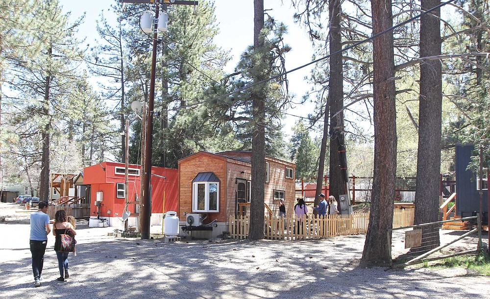 Hike a mile of the legendary Pacific Crest Trail, then overnight at the Tiny House Block on Mount Laguna.