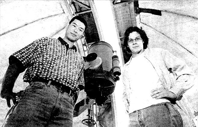 Limin Lu and Ben Oppenheimer. Ben Oppenheimer was working on his dissertation, hunting for more brown dwarfs, studying all the stars within 25 light-years of earth. There were about 180 of them.