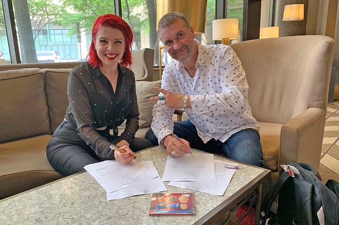 Whitney Shay and Thomas Ruf sign record contract