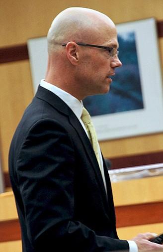 Prosecutor Robert Bruce