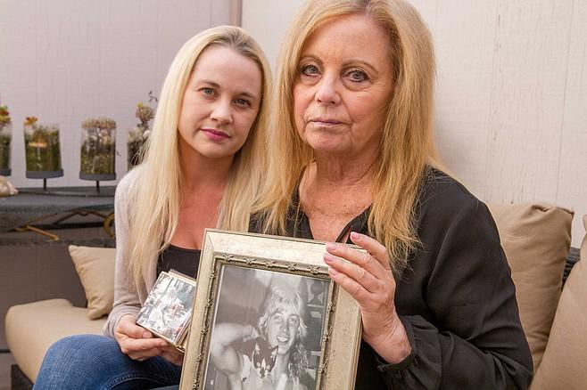 Kamaryn and Cheryl Peters remember Jamie, last seen on September 2, 1988