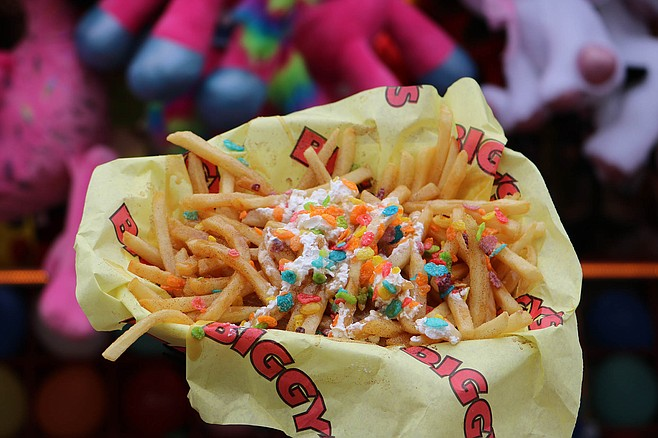 Caramel crack fries demonstrate the worst of fair food.