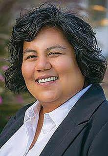 Georgette Gomez led April's drive to advance a convention center expansion measure.