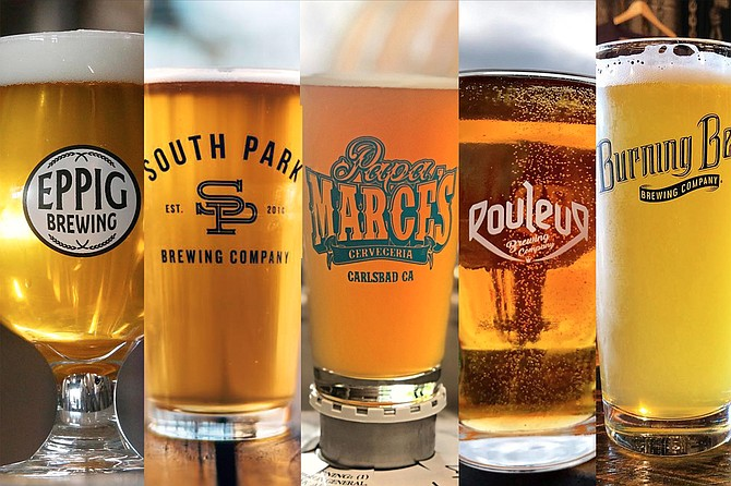 Eppig, South Park, Papa Marce's, Rouleur, and Burning Beard keep San Diego's awards tradition alive.