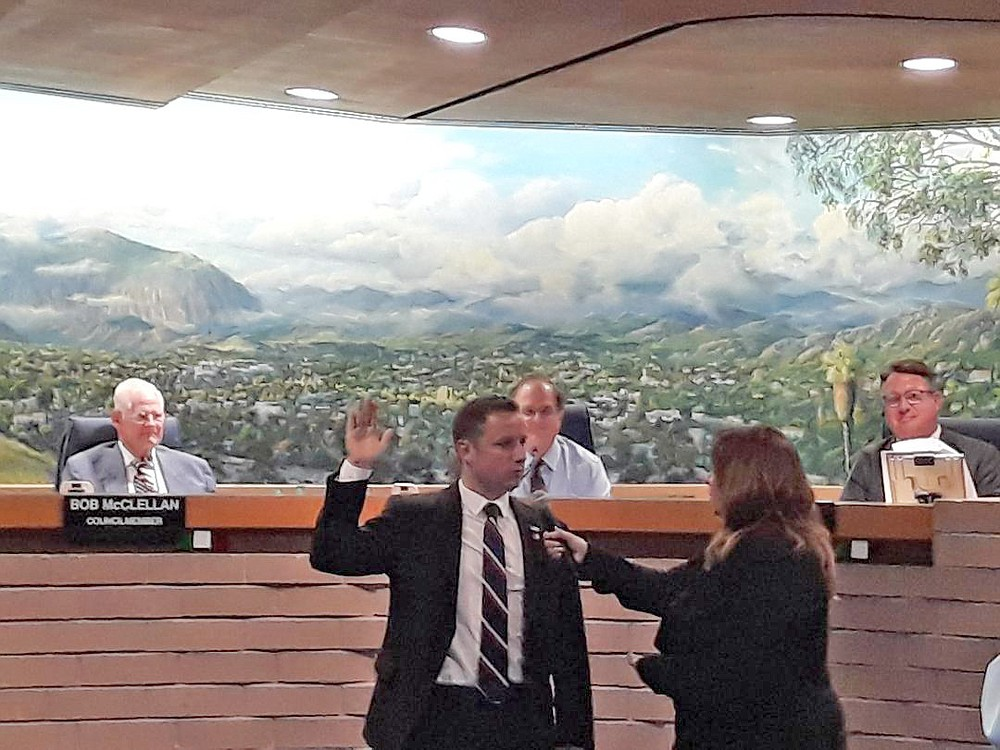 "Phil Ortiz, new El Cajon councilman, says, ""Maleness is not toxic. It is toxic to manipulate, coerce, bully, or threaten anyone; especially a woman or child. But I wouldn't define that as 'toxic masculinity,' rather 'immaturity' or 'toxic behavior.'"""