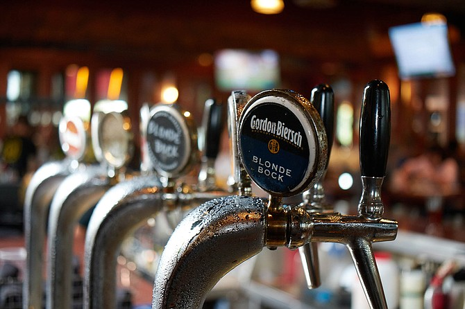 The taps at Gordon Biersch will stop flowing after July 14. - Image by Tim Stahl