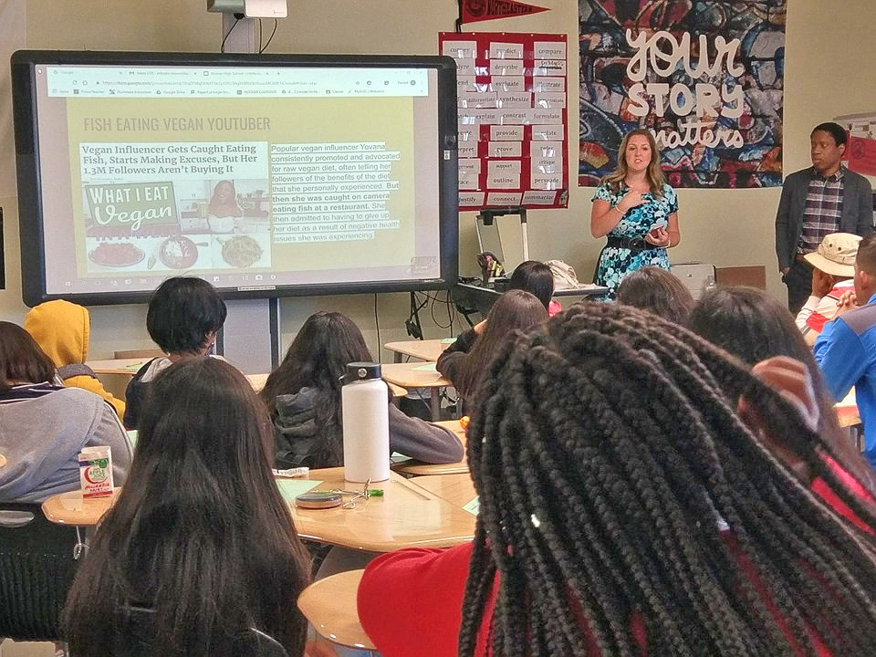The Community Law Project recently held a legal clinic at a local high school which they didn't want identified.