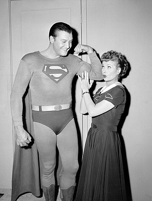 Lucy loves Superman.