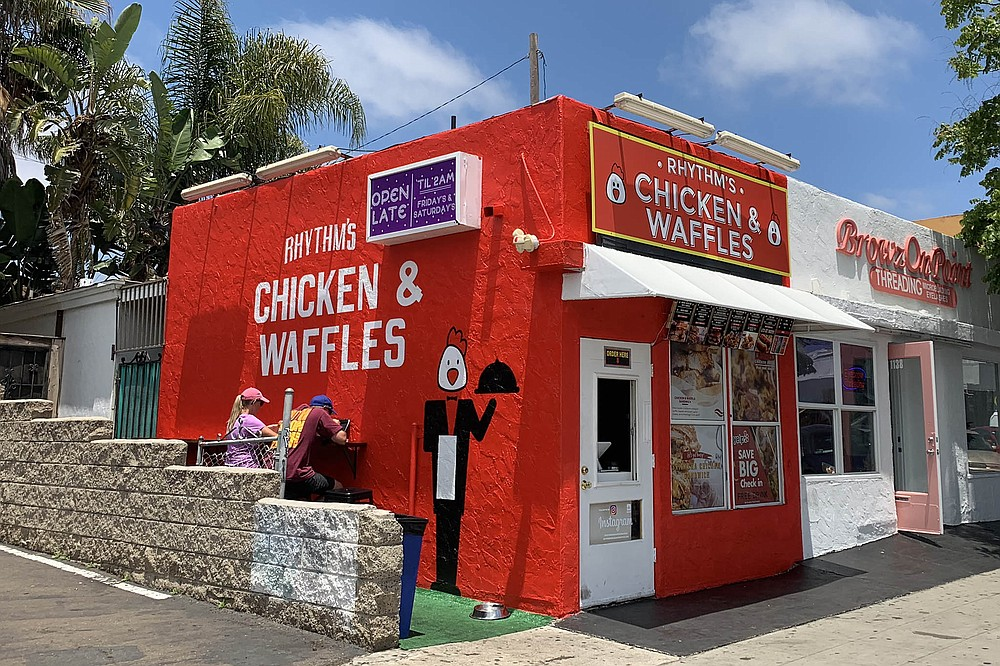 A bright red beacon for the hungry in Pacific Beach