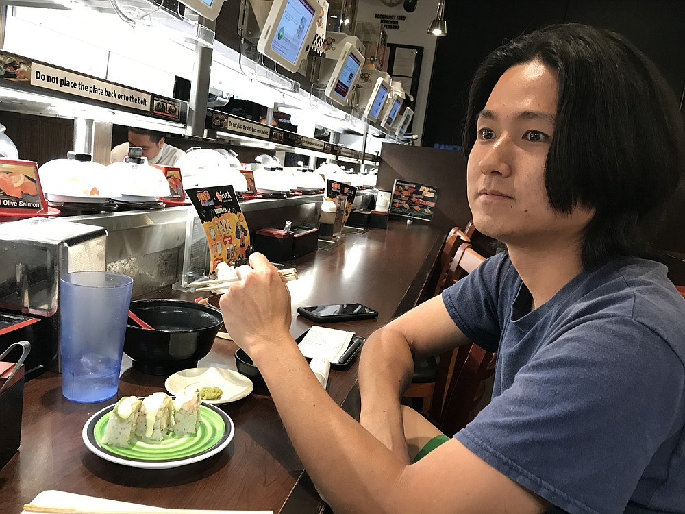Kohji: fast eater