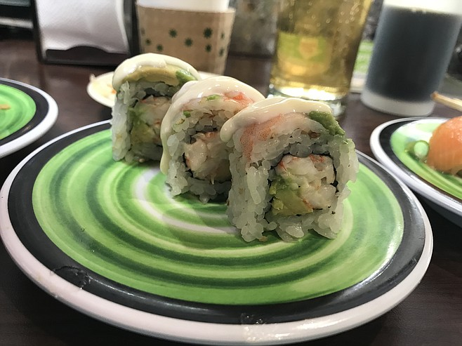 Shrimp avocado roll: yuzu-flavored
