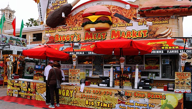 Biggy's Meat Mart at Del Mar Fair. Were these jobs counted by SANDAG?