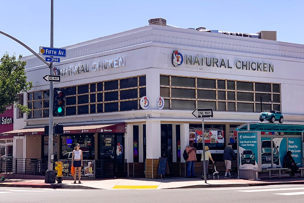 The Hillcrest outpost of Point Loma's Natural Style Chicken