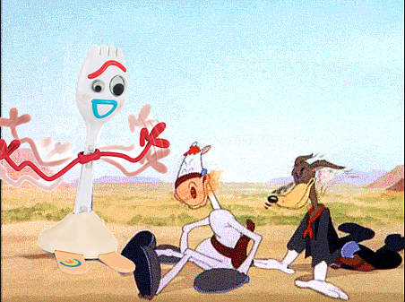 The Forky in the road.