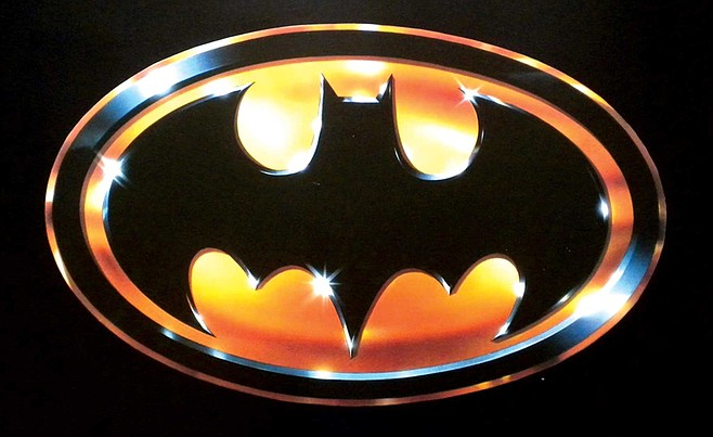Production designer Anton Furst made the Batman logo cool again for the 1989 film. Now, it's everywhere.