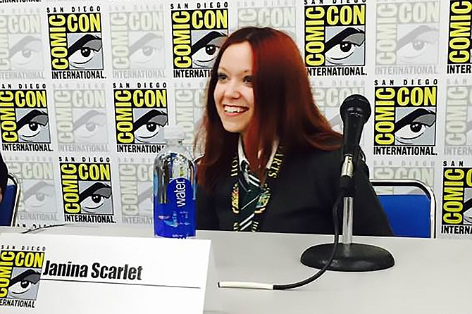 Dr. Scarlet will appear on several panels at this year's Comic-Con, including one on cult-hit TV shows and another on the psychology of the Potterverse.