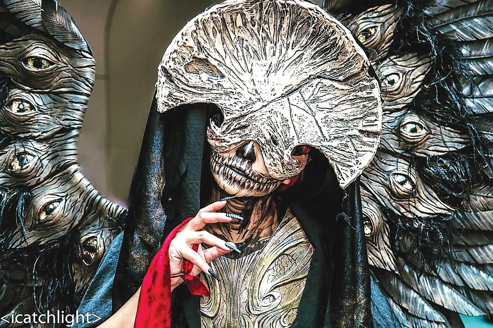 Linda Nguyen as Death Angel from Hellboy 2: The Golden Army (2008)