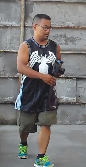 Mike Madriaga bought this Venom jersey from Peter in 2015.