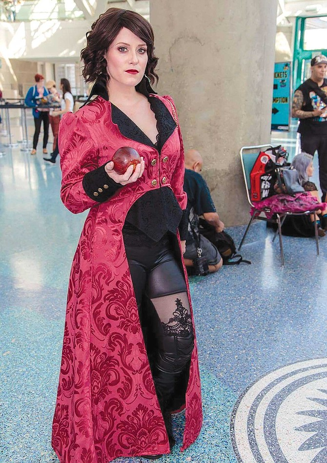 Poppy Appleton as the Evil Queen from Once Upon a Time