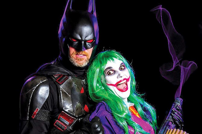 Shawn Richter and his fiancée, Lisa Lower, always wear matching costumes such as Batman and Joker