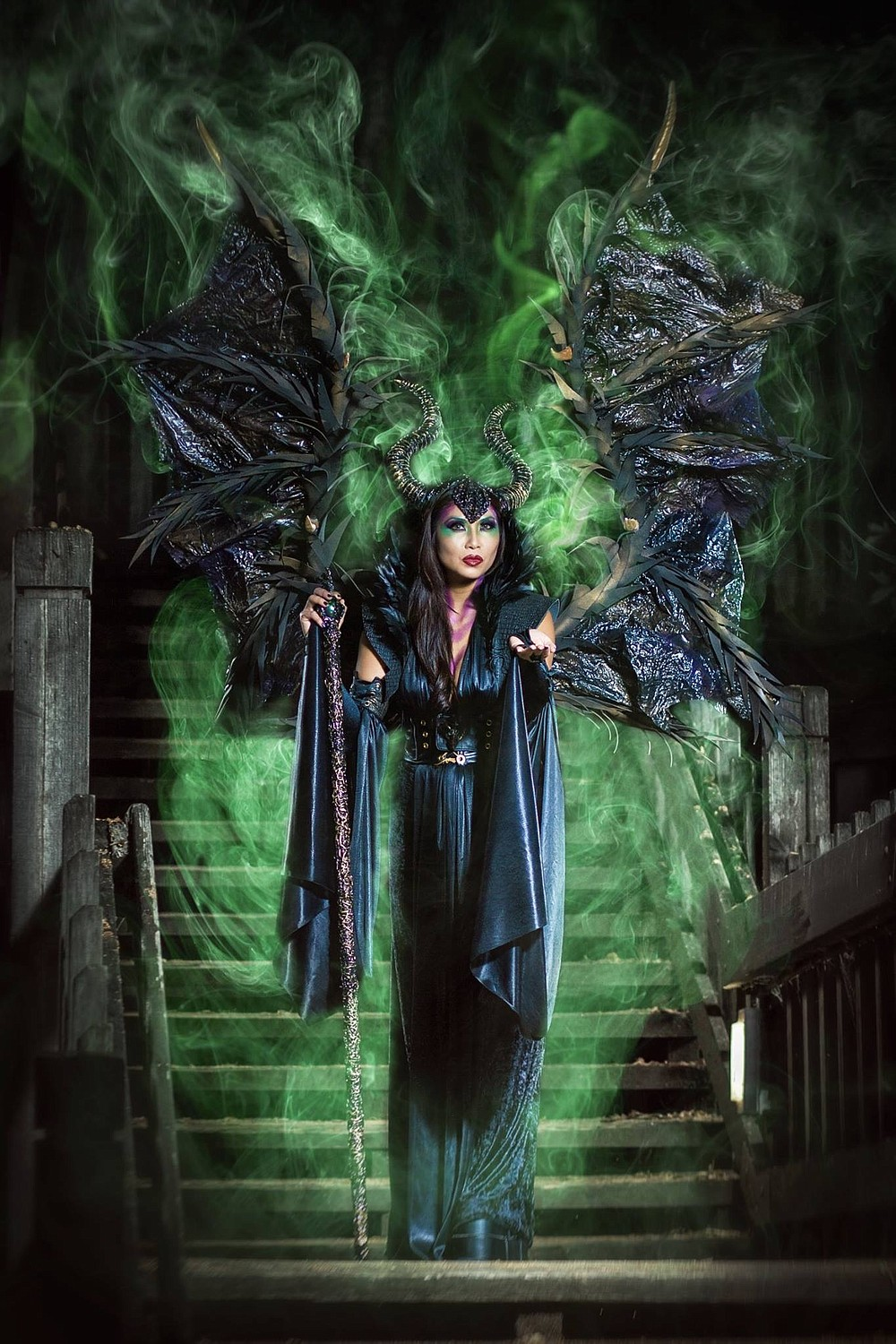 Nguyen  as the title character from Maleficent (2014)