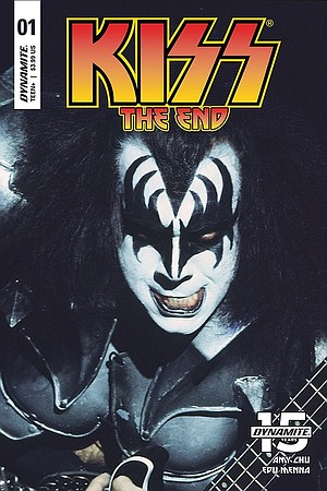 KISS comic book from Dynamite
