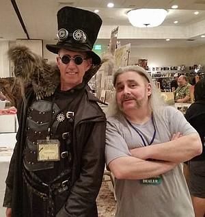 Dean LeCrone & Jay Allen Sanford at San Diego Comic-Fest