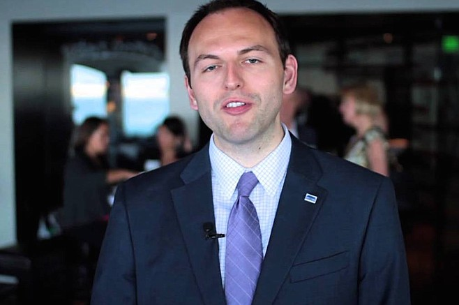 Matthew Awbrey, the mayor's chief of civic and external affairs