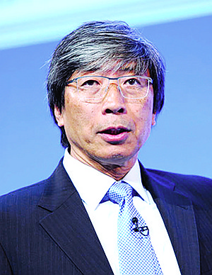 Patrick Soon-Shiong uses his newspapers to promote his business.