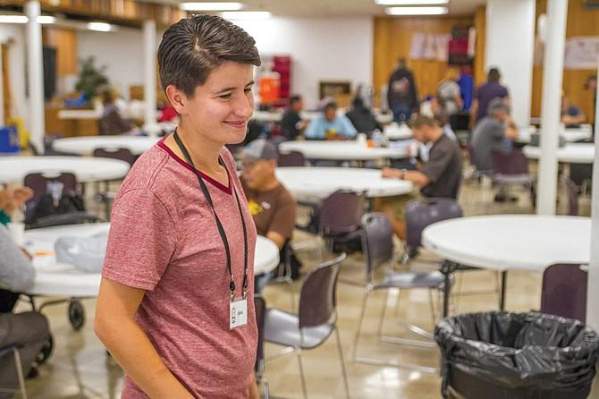 Lyssa Melonakos helps run the medical clinic and the mentoring program at First Presbyterian Church