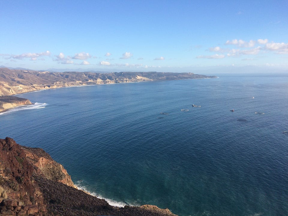 El Mirador – tourists are known to pull over here to take selfies.