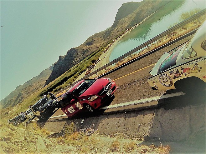 The Rally Historico Transpeninsular, a 1000-mile road race that starts in Ensenada.