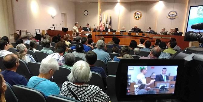 La Mesa's city council voted to keep farmers market in La Mesa village on Fridays.
