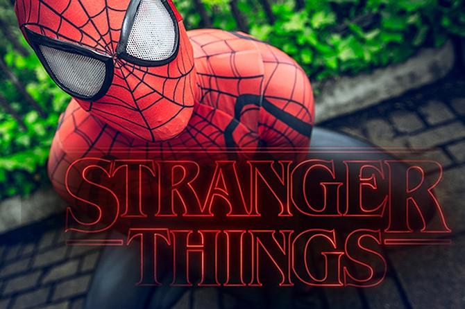 3 4 6 8 Anni Spider man Maglietta Mis